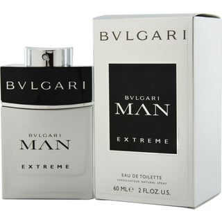 Bvlgari Man Extreme Men's 2-ounce Eau de Toilette Spray