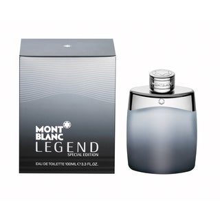 Mont Blanc Legend Men's 3.4-ounce Eau de Toilette Spray (Special Edition Bottle)