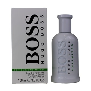 Hugo Boss Boss Bottled Unlimited Men's 3.4-ounce Eau de Toilette Spray