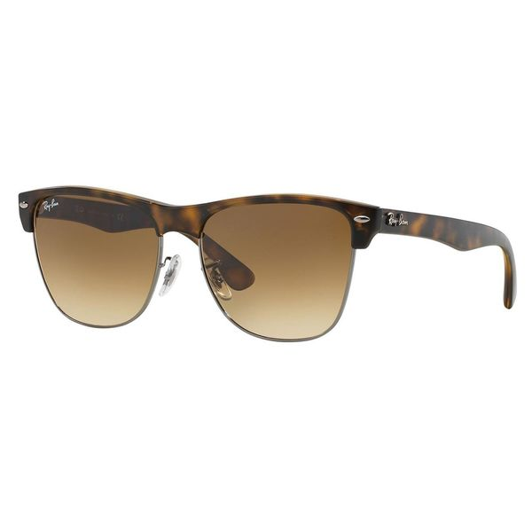 Ray-Ban Men's 'RB4175 Clubmaster' Tortoise Brown Sunglasses - Medium
