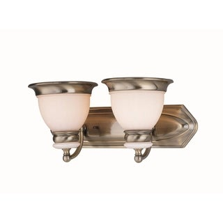 Lite Source Carter 2-Light Vanity