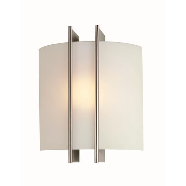 Carson 1-light Wall Sconce  sc 1 st  Overstock.com & Carson 1-light Wall Sconce - Free Shipping Today - Overstock.com ... azcodes.com