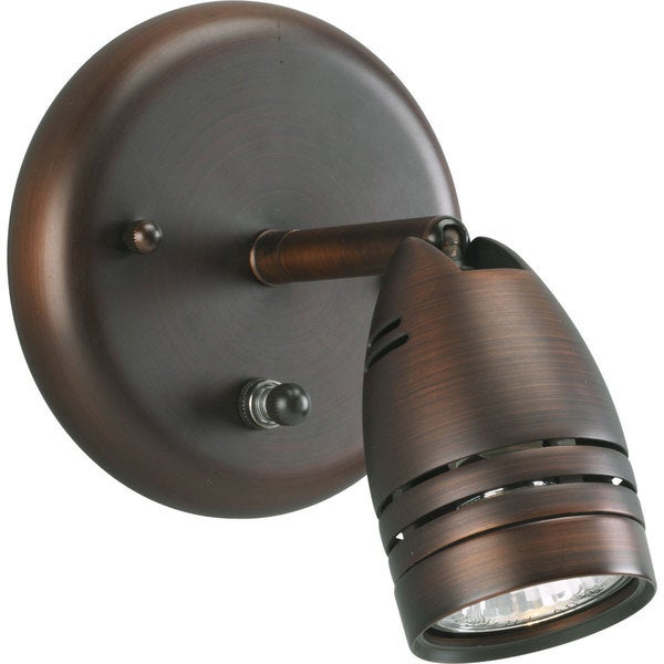 Progress Lighting Bronze  1-light Directional Light Fixture