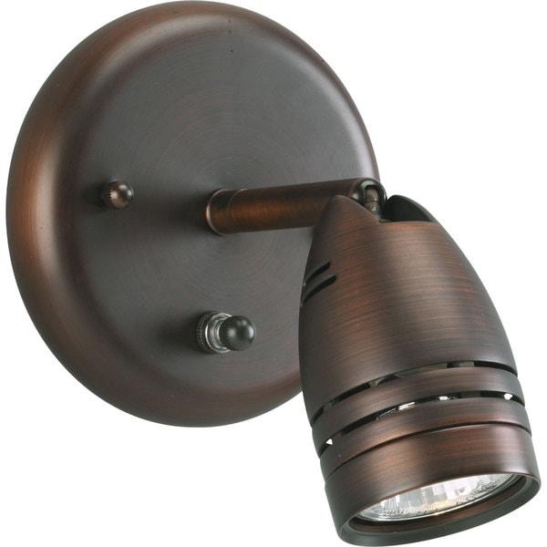 Progress Lighting Bronze 1-light Directional Light Fixture
