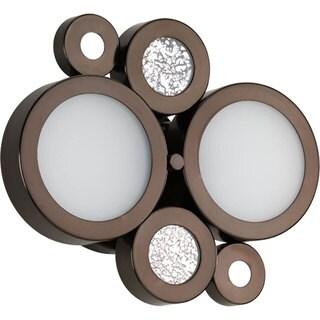 Progress Lighting Bronze Bingo Collection 2-light Venetian Bronze Bath Light With Bulb