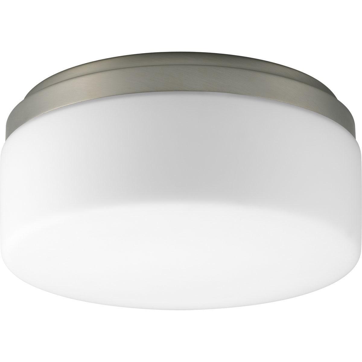 Progress Lighting Silvertone 1-light Semi-flush Mount Fix...