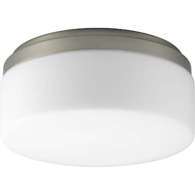 Progress Lighting Silvertone 1-light Semi-flush Mount Fixture - N/A