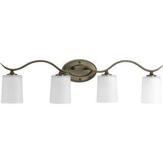 Progress Lighting Bronze  Inspire Collection 4-light Antique Bronze Bath Light