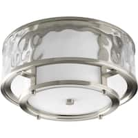 Progress Lighting Silvertone  2-light Flush Mount - N/A