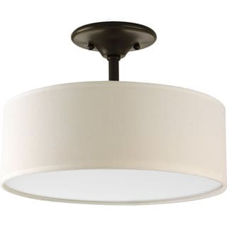 Progress Lighting Bronze 2-light Semi-Flush