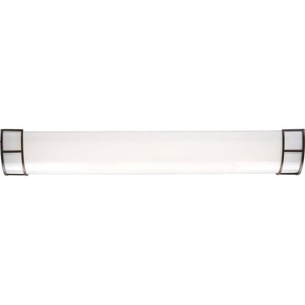Progress Lighting Bronze  3-light Modular Fluorescent