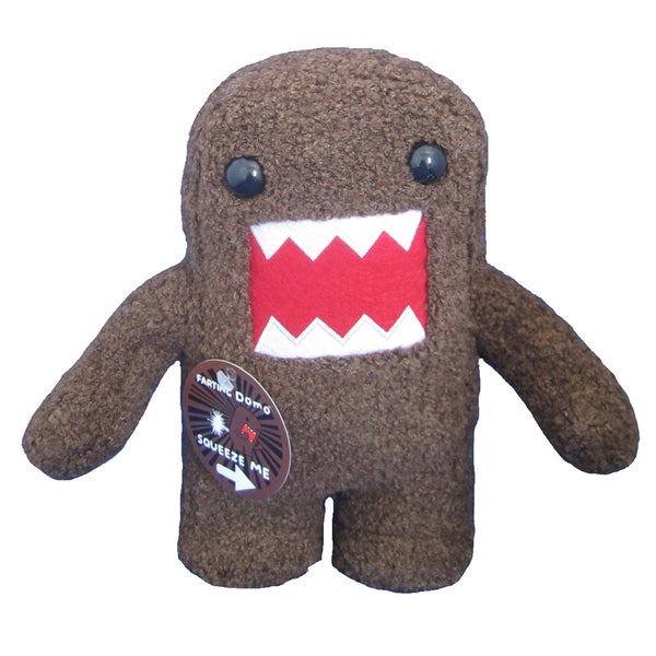 License 2 Play Domo Farting 9-inch Plush