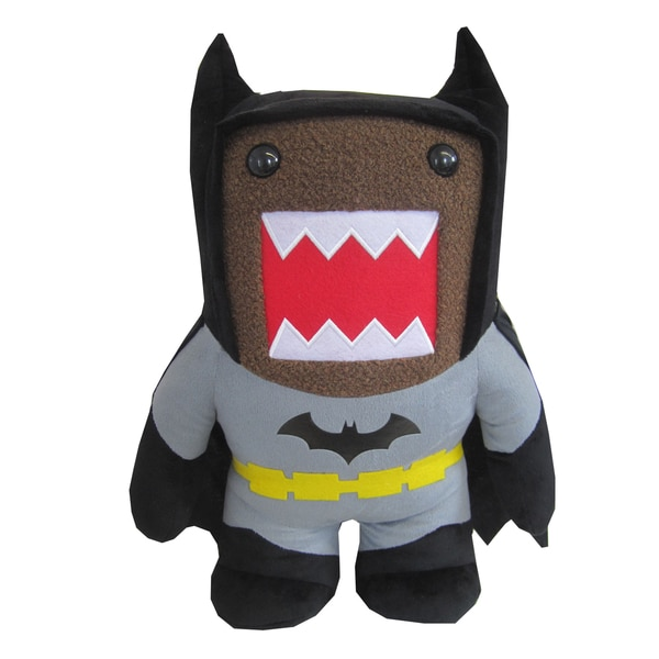 License 2 Play Domo Black Batman 16.5-inch Plush