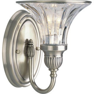 Progress Lighting Silvertone Roxbury Collection 1-light Classic Silver Bath Light