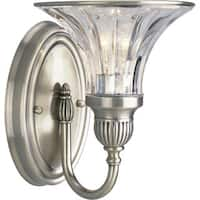 Progress Lighting Silvertone  Roxbury Collection 1-light Classic Silver Bath Light