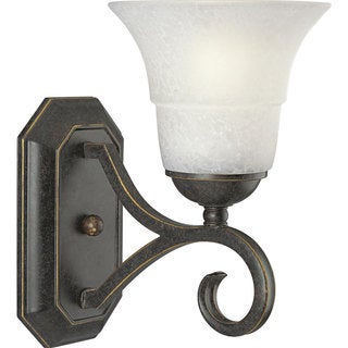 Progress Lighting Bronze Melbourne Collection 1-light Espresso Wall Sconce