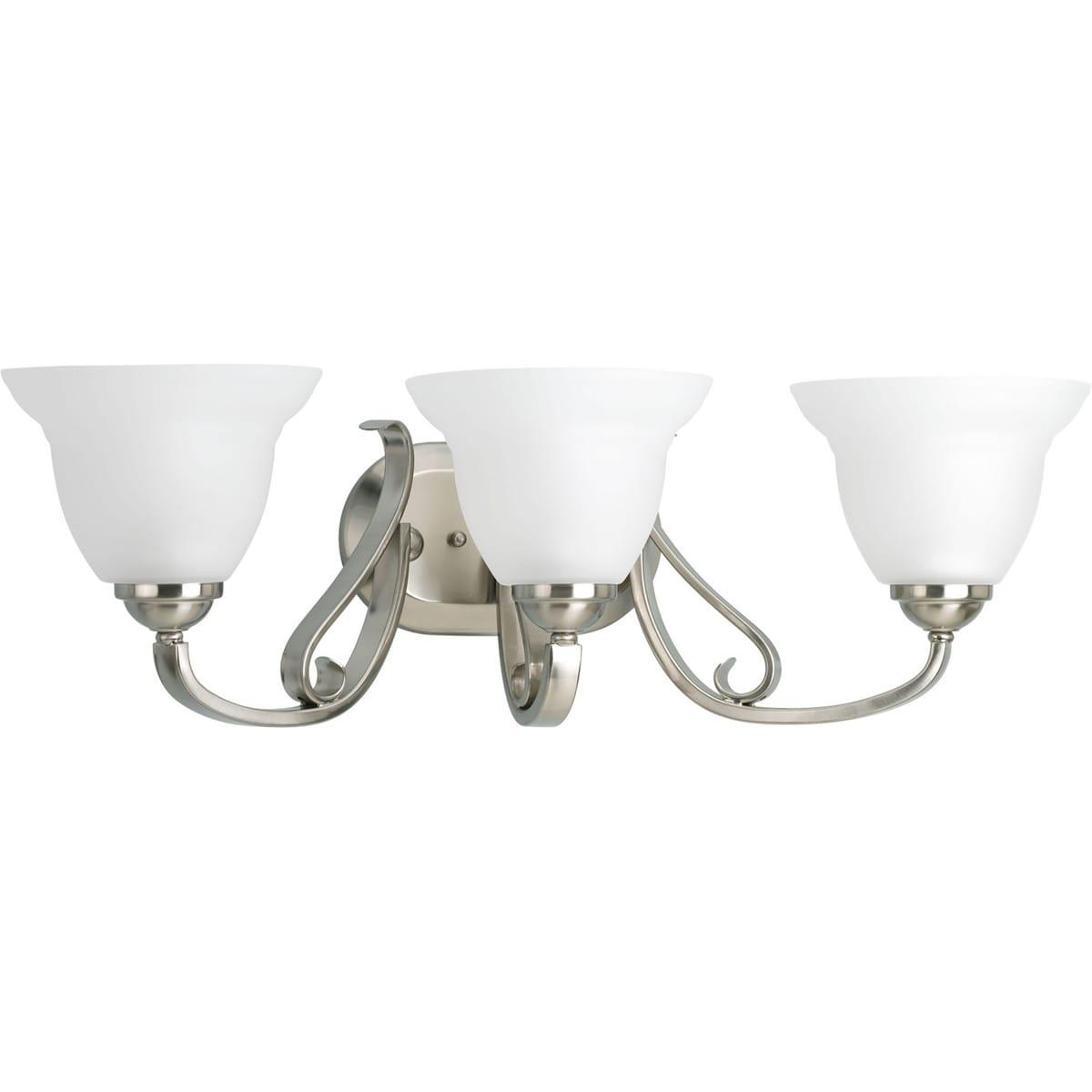 Progress Lighting Silvertone Torino Collection 3-light Br...