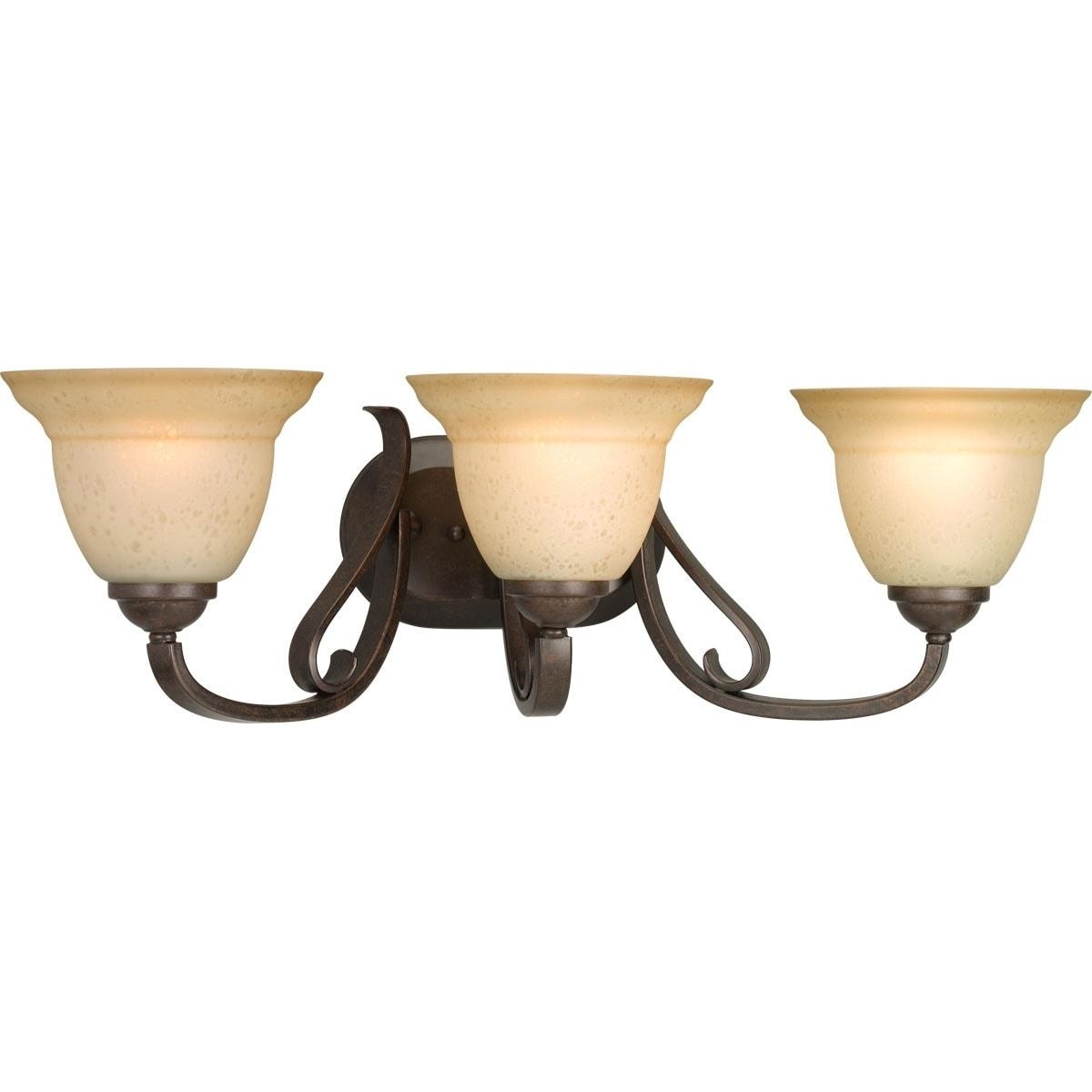 Progress Lighting Bronze Torino Collection 3-light Forged...