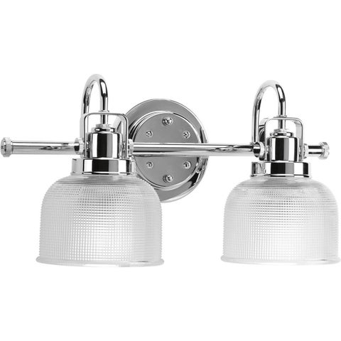 Oliver & James Fairhurst Silvertone 2-light Bath Light
