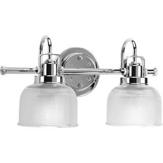 Oliver & James Fairhurst Silvertone 2-light Bath Light