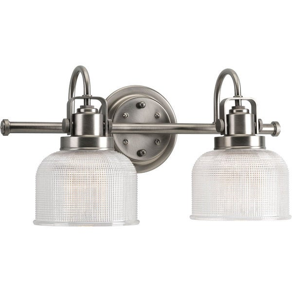 Progress Lighting Archie Collection 2 Light Antique Nickel