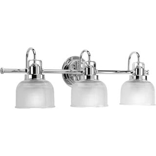 Progress Lighting Silvertone  Archie Collection 3-light Chrome Bath Light