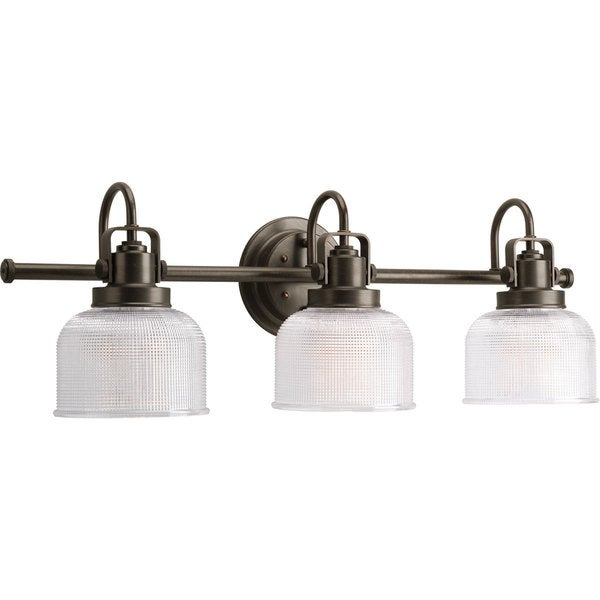 Progress Lighting Bronze  Archie Collection 3-light Venetian Bronze Bath Light