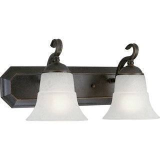 Progress Lighting Bronze Melbourne Collection 2-light Espresso Bath Light