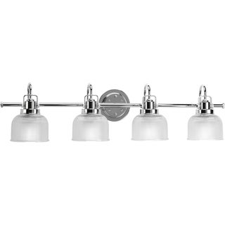 Progress Lighting Silvertone  Archie Collection 4-light Chrome Bath Light