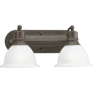 Progress Lighting Bronze  Madison 2-light Bath Light