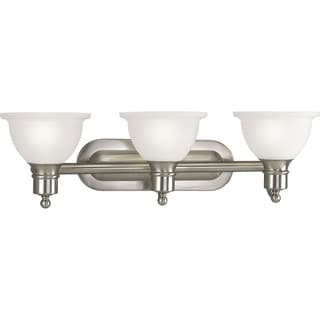 Progress Lighting Silvertone  Madison 3-light Bath Light