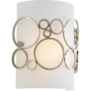 Progress Lighting Silvertone 1-light 1/2 Pocket Sconce