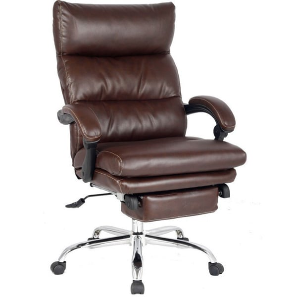 VIVA OFFICE High Back Ergonomic Bonded Leather Swivel Recliner Office Chair