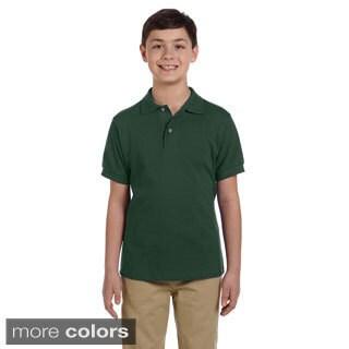 Youth Ringspun Cotton Pique Polo