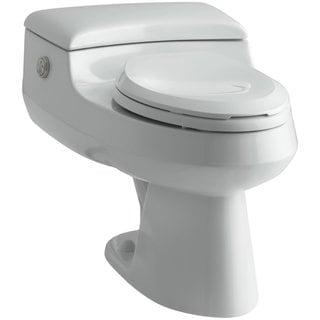 Kohler San Raphael Comfort Height Elongated Toilet in Ice Grey