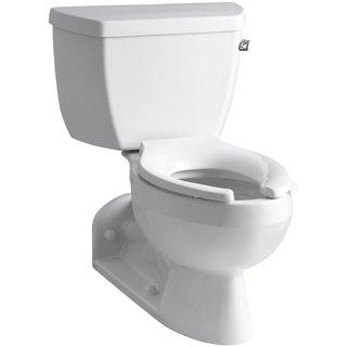 Kohler Barrington 2-piece Pressure Lite Elongated Toilet in White