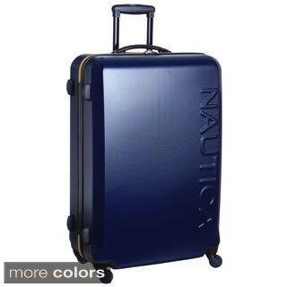 Nautica Ahoy 28-inch Hardside Spinner Upright Suitcase (2 options available)