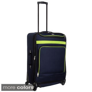 Travel Gear Spectrum II 25-inch Expandable Spinner Upright Suitcase