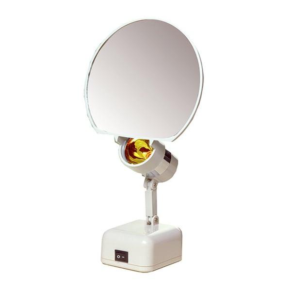 5-inch Round 5X Illuminated Vanity Mirror