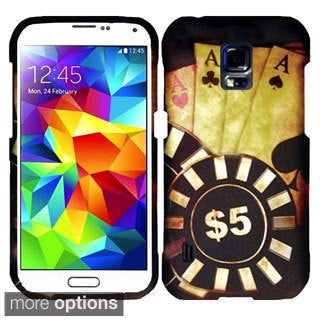 INSTEN Rubberized Pattern Dust Proof Hard Plastic Phone Case Cover for Samsung Galaxy S5 Active