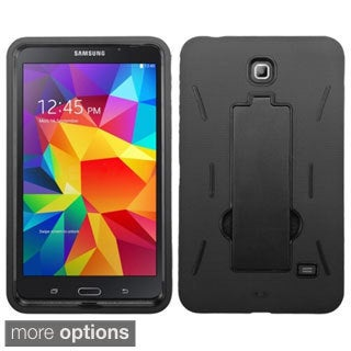 INSTEN Shock Proof Stand PC Soft Silicone Hybrid Tablet Case Cover for Samsung Galaxy Tab 4 7