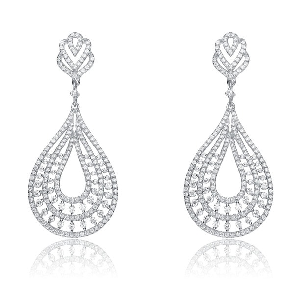 crystals cttw double drop elegant deals with gg made halo cm pear love of earrings swarovski groupon elements