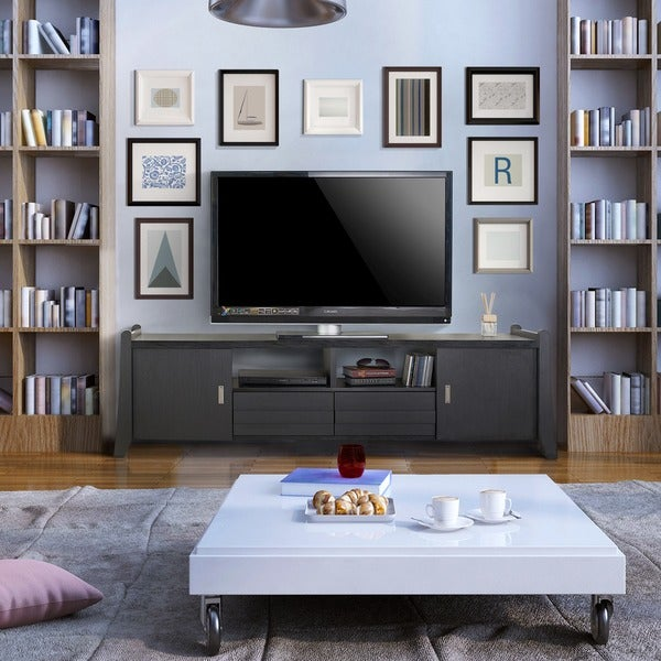 Furniture of america trensin modern 70 inch entertainment for Furniture of america danbury modern
