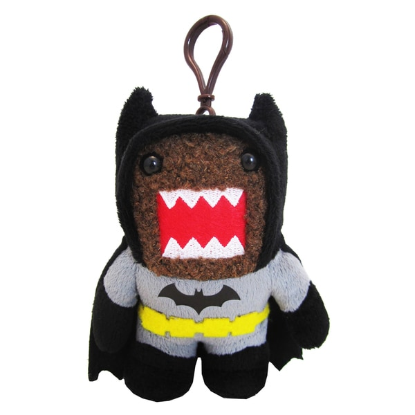 License 2 Play Domo Black Batman Clip-on Plush
