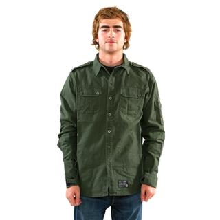 Sector 9 Men's 'Sharps' Military Green Shirt