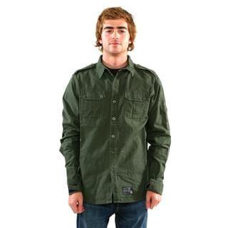 Sector 9 Men's 'Sharps' Military Green Shirt
