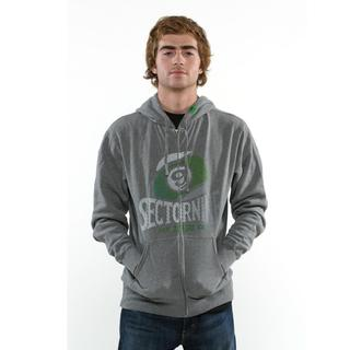 Sector 9 Men's 'Foundation Zip' Gunmetal Sweatshirt