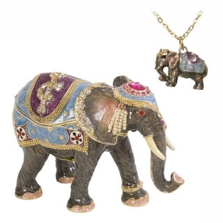 Kathmandu Elephant Trinket Box