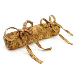 Brocade Jewelry Roll (India)