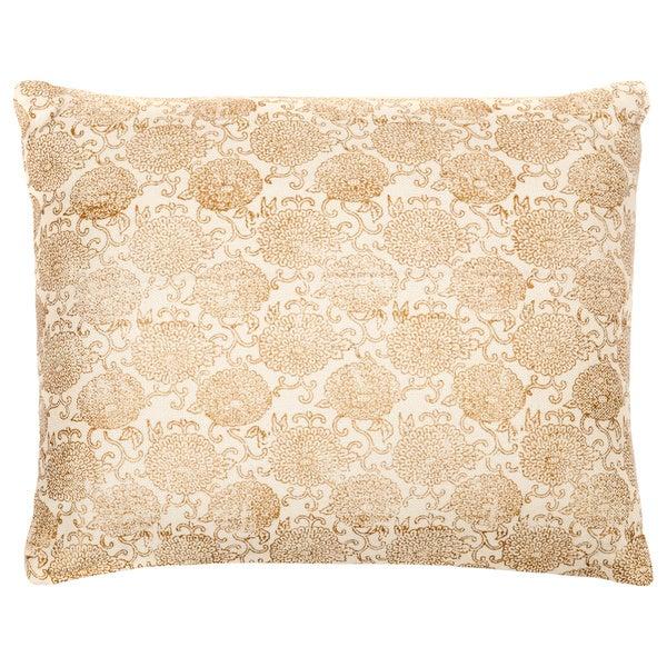 Trendsage Rose Cream Decorative Accent Pillow